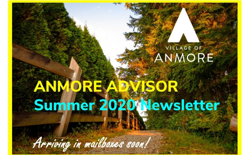 Anmore Advisor > Summer 2020 Newsletter