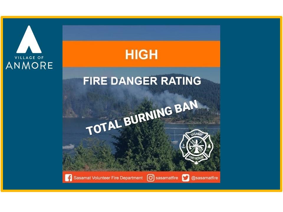 FIRE BAN IN EFFECT