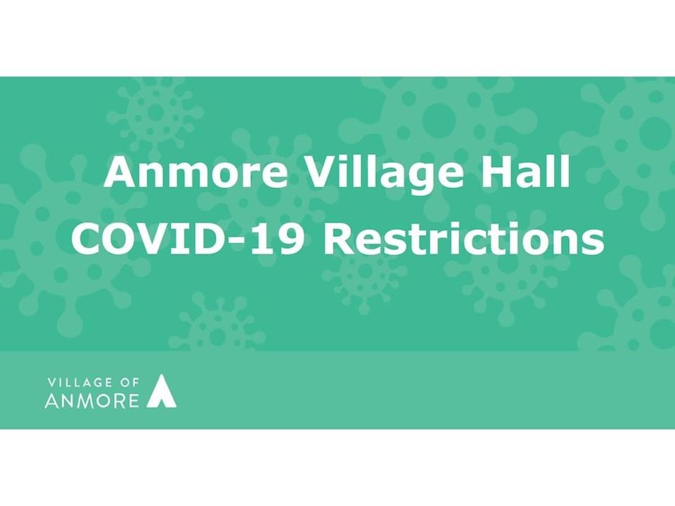 NOTICE: Village Hall Access Restrictions