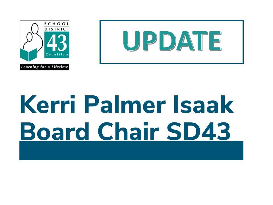 SD43 Trustee Update