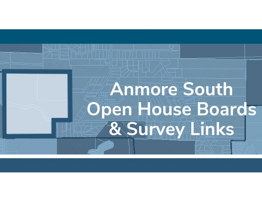 Anmore South Open House Boards & Survey Links