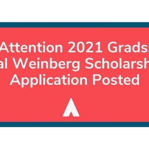 Attention 2021 Grads