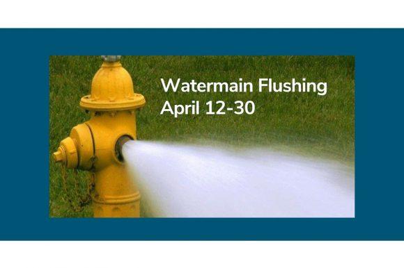 Watermain flushing