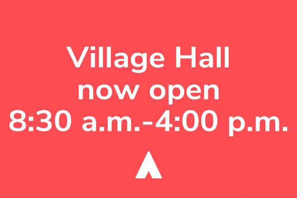 Village Hall Open