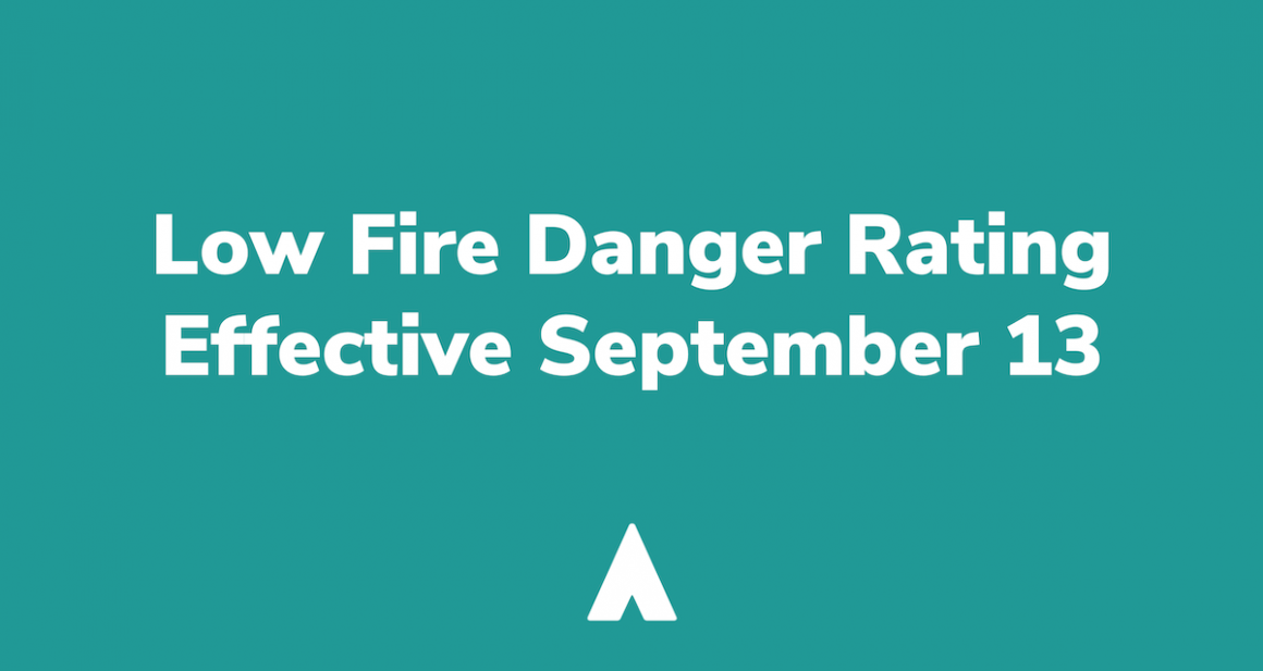 SVFD FIRE RATING – LOW